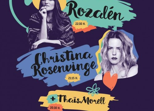 CORAZONADAS. ROZALEN + CRISTINA ROSENVINGE + THAÏS MORELL