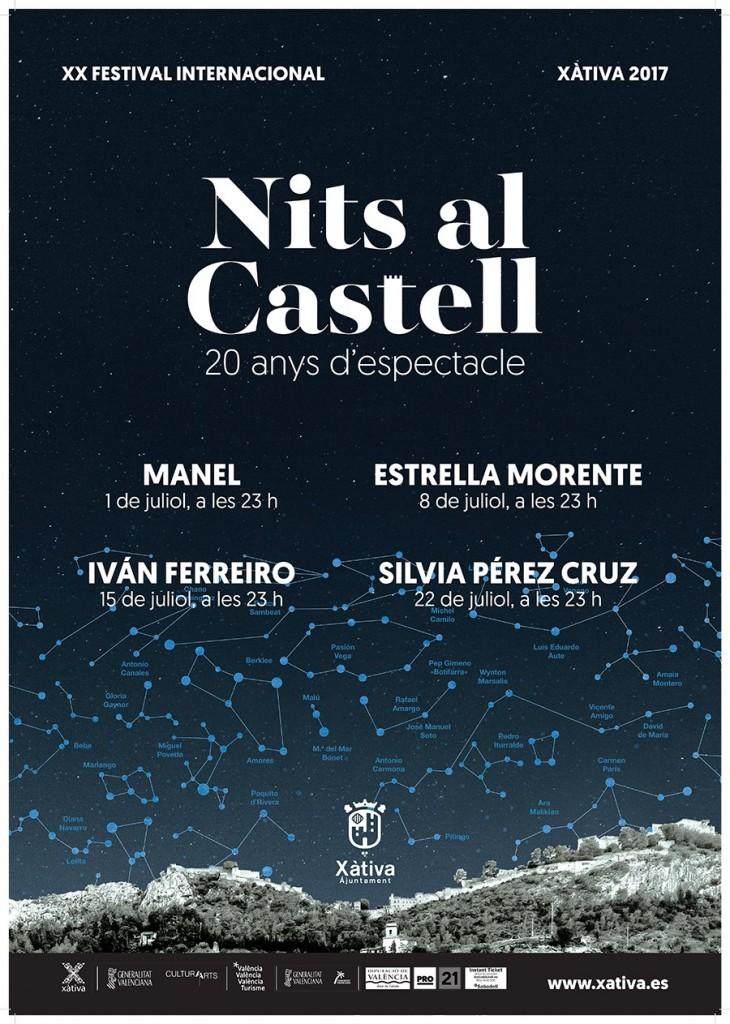 CARTEL NIT AL CASTELL 2017