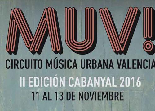 FESTIVAL MUV! CIRCUITO MÚSICA URBANA 2016